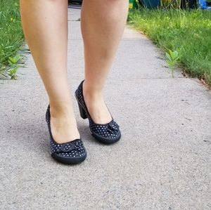[Rocket Dog] Polka dot heels